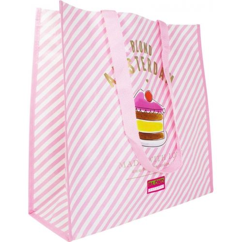 Shopper Pink Stripe