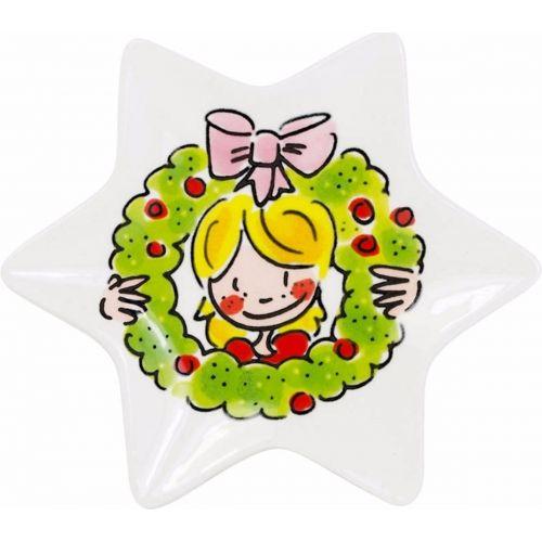 Kerstschaaltje ø12cm Girl