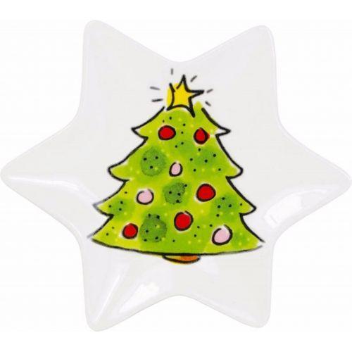 Kerstschaaltje ø12cm Kerstboom