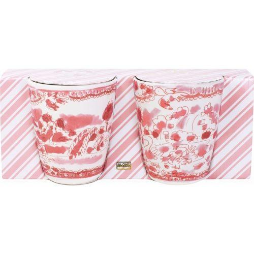 Set 2 bekers Romance 0,35L