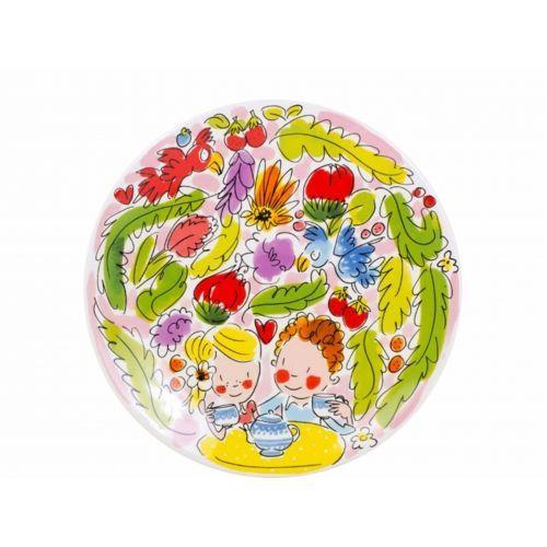 Breakfast Plate ø22cm Pink Paradise
