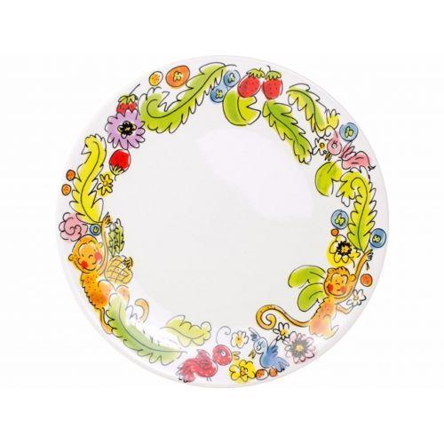Dinner Plate ø26cm Monkey