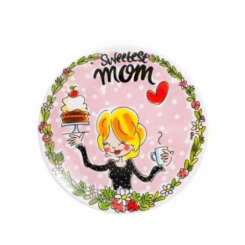 Ontbijtbord ø22cm Sweetest mom