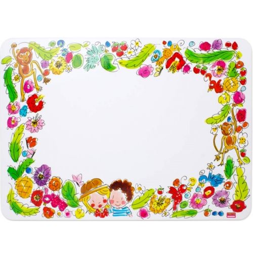 Placemat Paradise Illustrated Border