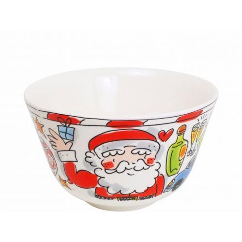 Kom ø14cm Christmas Santa