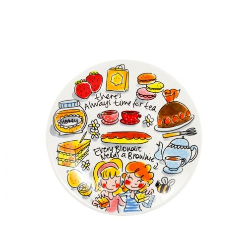 Taartbord ø18cm High Tea Honey