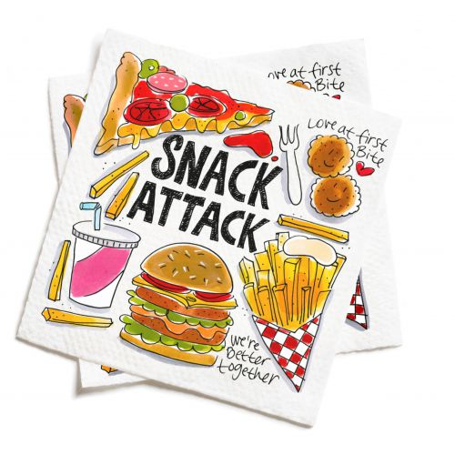 Set of 20 Napkins Snack