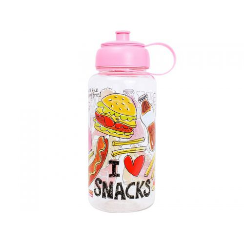 Water Bottle Snack 1L