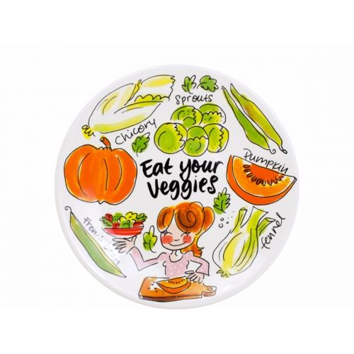 Breakfast plate ø22cm Pumpkin