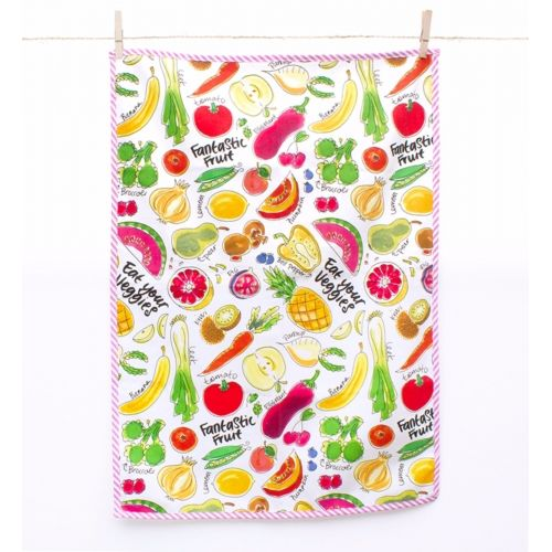 Tea towel Fruit & Veggies