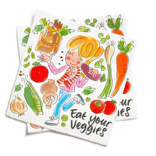 Set of 20 napkins Fruit & Veggies