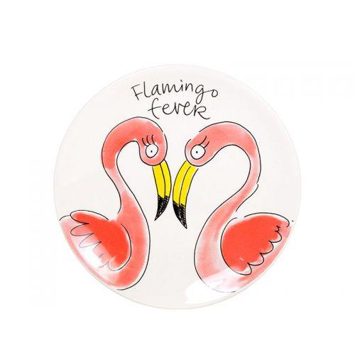 Taartbord ø18cm Flamingo