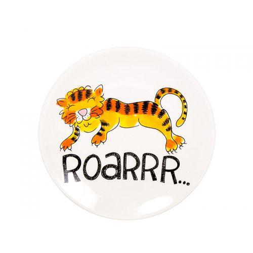 Taartbord ø18cm Tiger