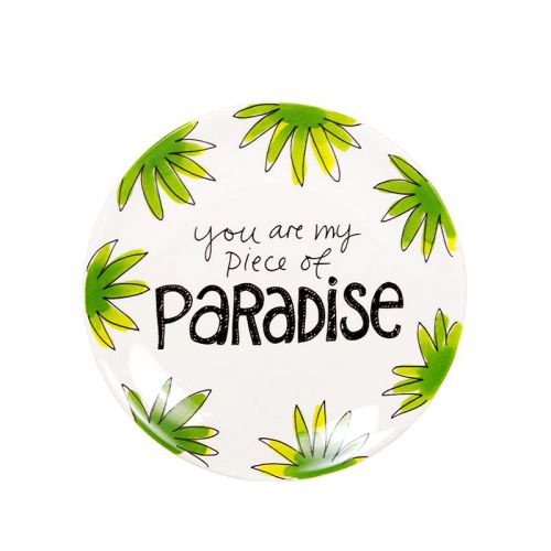 Taartbord ø18cm Paradise