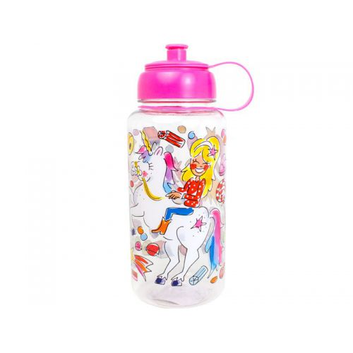 Water Bottle Unicorn 1L Pink