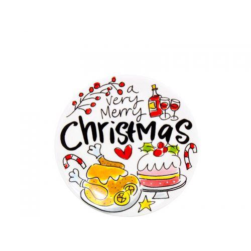 Petit four ø12cm Merry Christmas