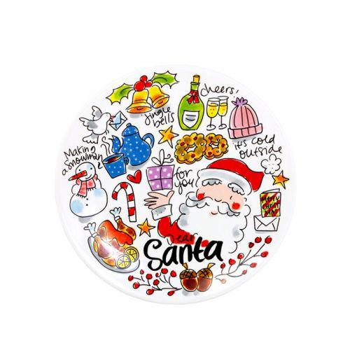 Ontbijtbord ø22cm Dear Santa