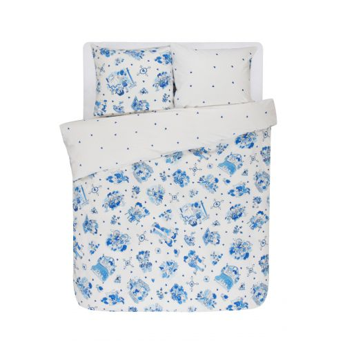 Duvet cover Delfts Blond 2p set 240x220
