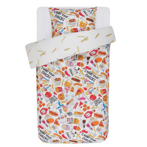 Duvet cover Snack 1p set 140x200