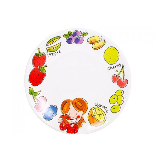 Breakfast plate ø22cm Apple