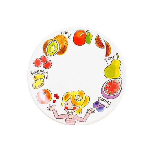 Breakfast Plate ø22cm Kiwi
