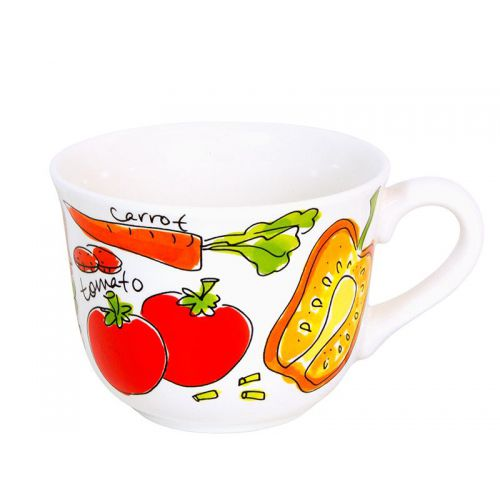 Soup bowl Orange 0,4L