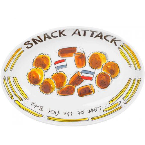Oval Bowl ø28,5cm Snack