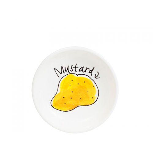 Snack Dish Mustard ø8cm
