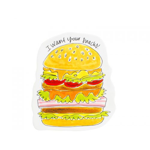 3D Plate Hamburger