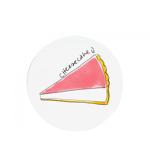 Taartbord ø18cm Cheesecake