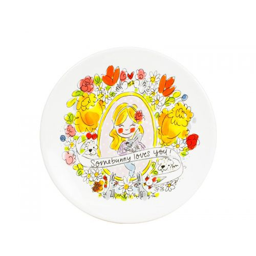 Breakfast Plate ø22cm Easter Girl