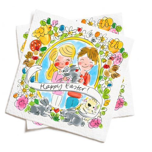 Set of 20 Napkins Easter