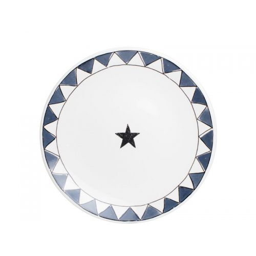 Breakfast plate ø22 cm Star
