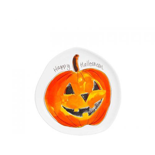 3D Plate Halloween Pumpkin