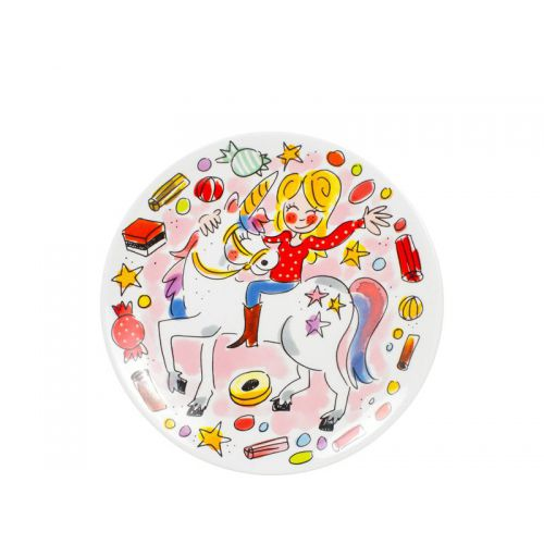 Cake plate ø18cm Unicorn