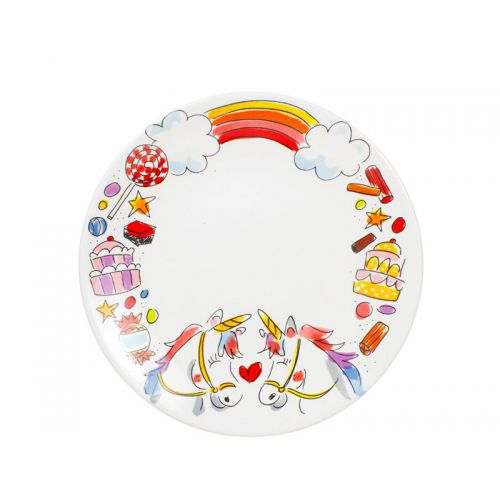 Breakfast plate ø22cm Unicorn