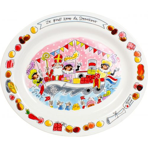 Oval Serving Platter ø38cm Saint Nicholas