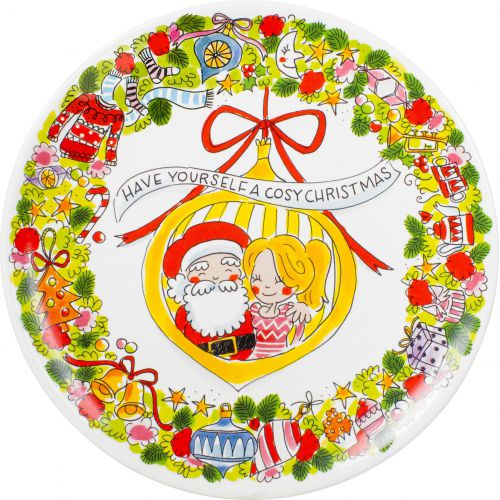 Serving Platter ø33cm Christmas