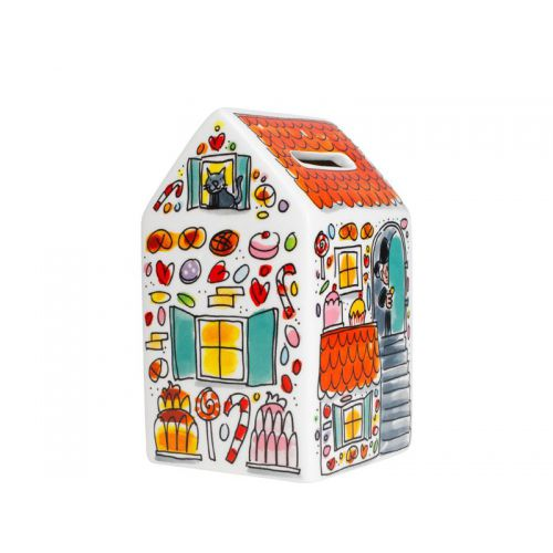 House Shaped Money Bank Hansel & Gretel