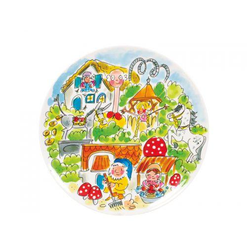 Melamine Plate ø22cm Fairytale Forest