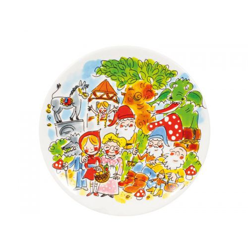 Breakfast Plate ø22cm Fairytale Forest