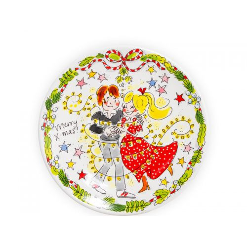 Breakfast Plate ø22cm Christmas Dance