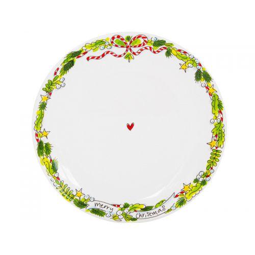 Dinner Plate ø26cm X-Mas