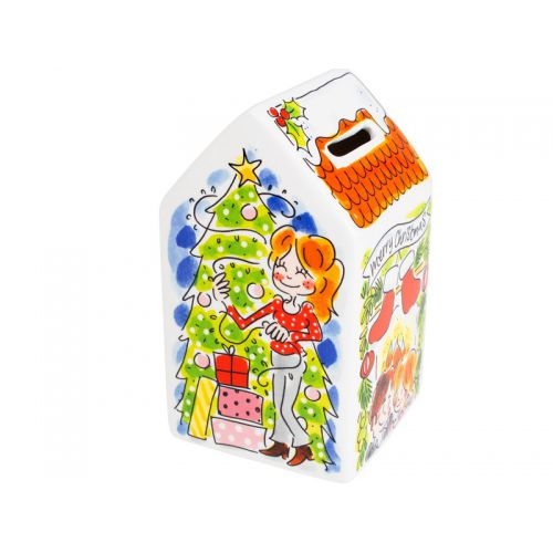 House Shaped Money Bank X-Mas
