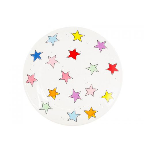 Breakfast Plate ø22cm Star
