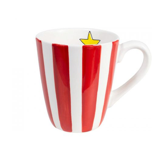 Mug Red Stripe 0,35L