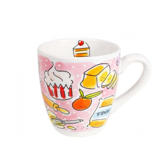 Mini Mug Pink - Cake 0,2L