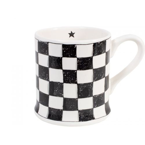 Mug XL Checkered 0,5L