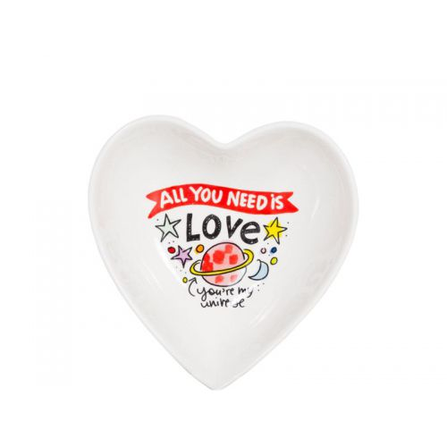 Heart-Shaped Bowl ø16cm Love Valentine