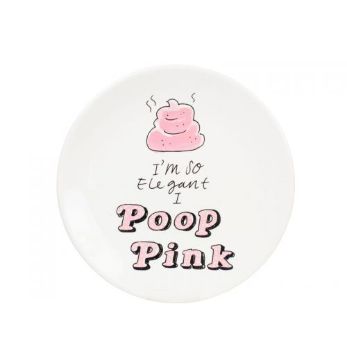 Café Bordje Pink Poop
